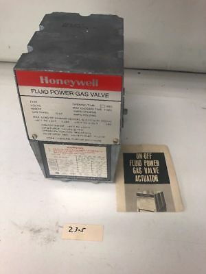 New Honeywell, V4055A-1098 3 120V Fluid Power Gas Valve Actuator Motor