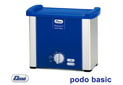 Elmasonic S Podo Basic Ultrasonic Bath with Accessories for the Foot Care /