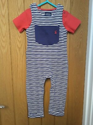 Joules baby boys dungarees / outfit 12-18 months. worn once.