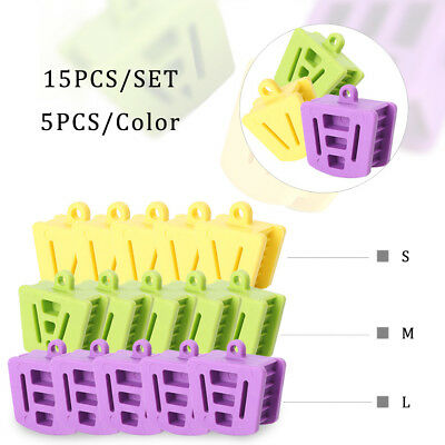 15x Dental Silicone Mouth Bite Block Rubber Mouth Opener Cheek Retractor Prop sl