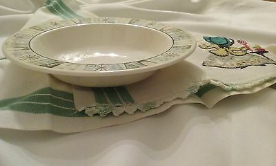 """Taylor Smith & Taylor Cathay Soup/cereal Bowl 7-5/8""""taylorstone Atomic Starburst"""