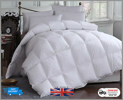 Luxury Duck Feather & Down Duvet Quilt Bedding **Extra Warm 15 Tog - All Sizes**