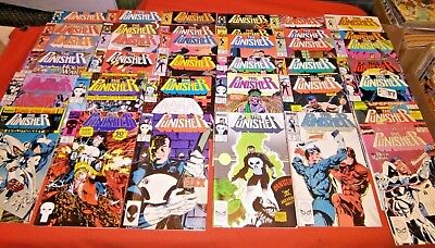 Punisher 5 6 7 12 -41 46 -71 73 74 75 76 77 18 25 29 50 53 60 Annual 1 2 3 4 5 6