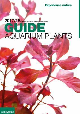 Dennerle Aquarium Plant Guide 2017/18 158 Colour Pages Aquascaping Magazine Book