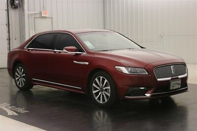 2017 Lincoln Continental FWD PREMIERE LEATHER 3.7 V6 NOISE CANCELLATION  MSRP $46435 REMOTE START REAR VIEW CAMERA LINCOLN SOFT TOUCH SEATS AMBIENT LIGHTING