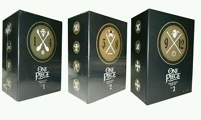 One Piece :collection Box Sets 1-3 (48 Disc Dvd)  Vol 1-12 Brand New!!! Dvds
