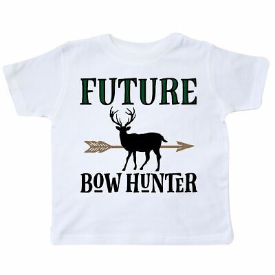 Inktastic Hunting Future Bow Hunter Toddler T-Shirt Gift Deer Clothing Childs