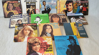 "7"" Single Sammlung, 170 Stk, national, NDW, Schlager, Deutschrock, #7"
