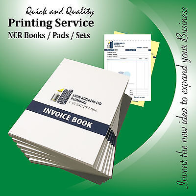 Personalised Invoice Book / Duplicate / Ncr / Receipt / Order / Pads, A5 / A4