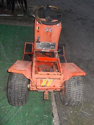 Ride on Mower Rear Axle Wheels Gearbox / Frame / Fuel Tank Westwood T1200