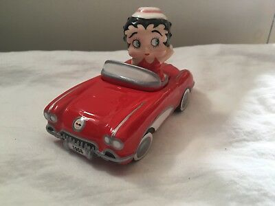 Betty Boop Car Salt & Pepper Shakers