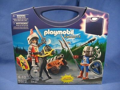 Playmobil USA 5972 Knights, carrying case playset Ritter, NEU/OVP