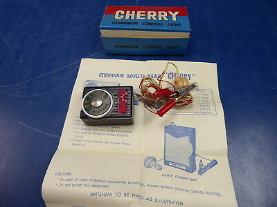 "Germanium Novelty Radio  ""  Typ Cherry Gm-100  """