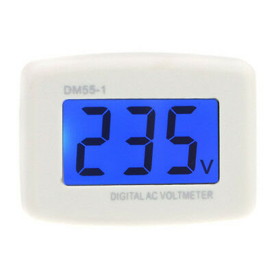 DM55-1 AC 80-300V LCD Digital Voltmeter US plug-in electric pen meter H7I9