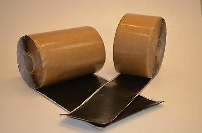 """EPDM 6"""" x 100' tape flashing for roofing"""