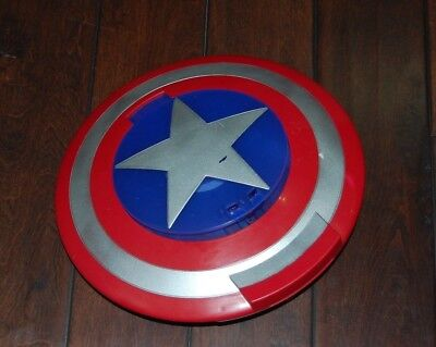 Marvel Captain America Launching Toy Shield Only No Discs Ages 5+ Used