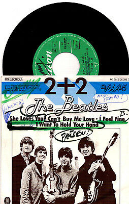 The Beatles ‎- 2 + 2 Vol. 45 - 1977 / Odeon 1 C 016-06 396