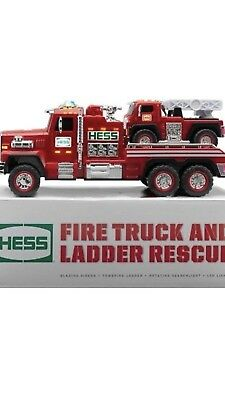New 2015 51st Hess Collectible Toy Fire Truck and Ladder Rescue NEVER OPENED
