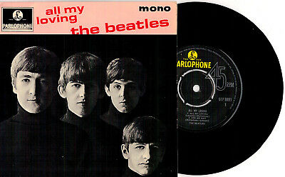 The Beatles ‎- All My Loving Mono EP 1981 Reissue