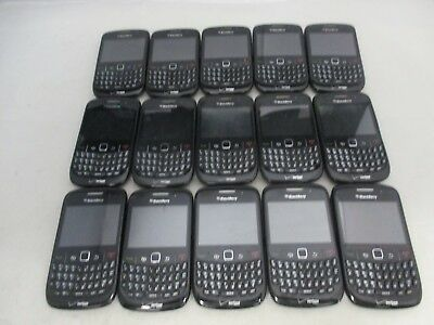 Lot Of 15 Fair Verizon Blackberry Curve 8530 Rcl21Cw Qwerty Keypad Clean Imei