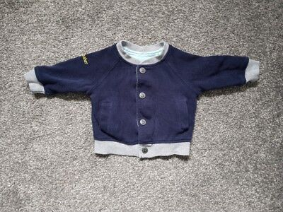 ted baker baby boy reversible jacket 0-3 months