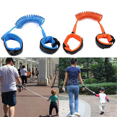 Toddler Kids Baby Anti-lost Safety Walking Harness Wrist Strap Hand Leash Belt