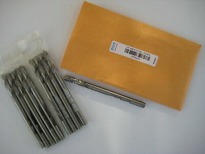 """1/4"""" Pilot Drill Bit, High Speed Steel with 3 Steps,  Set of 10 PC."""