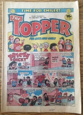 The Topper Comic 1633 May 19th 1984