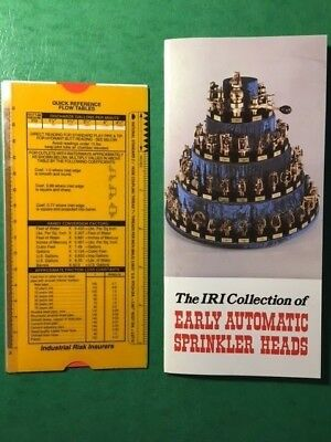 Booklet: IRI Collection of Early Automatic Sprinkler Heads