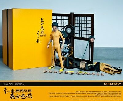 Bruce Lee Enterbay 1/6 Game of Death  Rarität Hot Toys Blitzway Sideshow