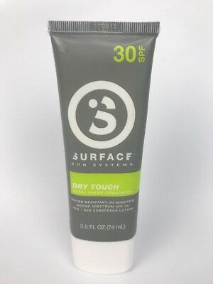 SURFACE SUNSCREEN DRY TOUCH LOTION SPF30 2.5oz. ULTRA SHEER SUNSCREEN
