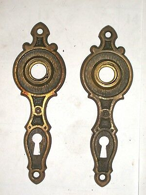 Antique Door Knob Backplates #32