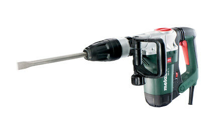 METABO MHE 5 SDS MAX Demolition Hammer, D Handle, 19-1/2 in. WITH CASE NEW
