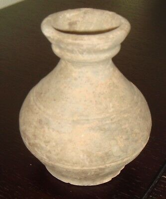 HAN DYNASTY EARTHENWARE JAR,  Ancient Chinese Pottery