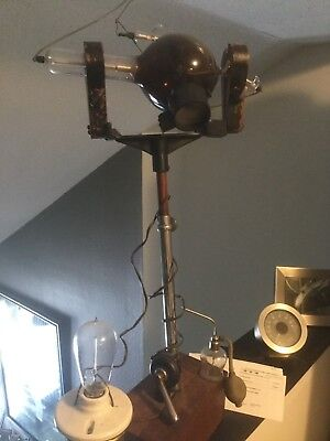 antique X-ray machine  (  as seen television series The Knick ) medical antique