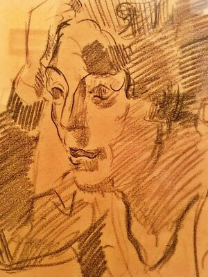 PHILIPPE COCKX (1879-1949), BELGIAN, BRABANT FAUVISM, drawing to 750 euro