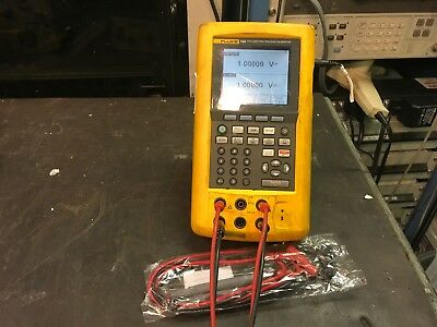 Fluke 744 Documenting Process Calibrator with Lead Set TESTED