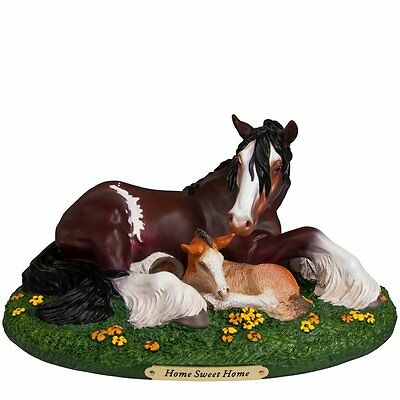 TRAIL OF PAINTED PONIES - Home Sweet Home - Horse Figurine - 1E / 453 Resin