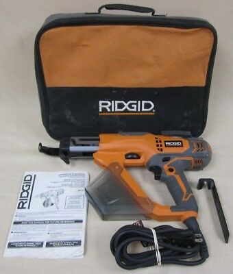 """RIDGID 1"""" - 3"""" in. Drywall & Deck Collated Screwdriver Corded Screwdriver  R6791"""