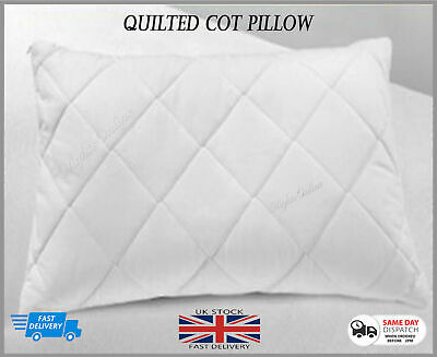 ***Anti-Allergy*** Cot Bed Soft Quilt Pillow Baby Toddler Junior Nursery