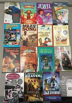 C7 Kids Chapter Books Teacher Classroom Lot of 100 Level 4-6 ~ Many Newbery & AR