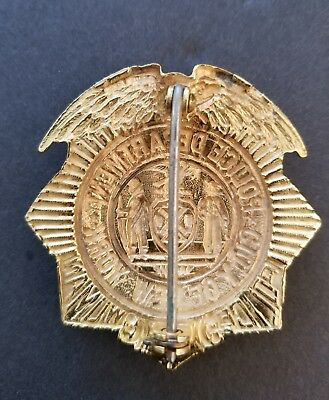 Obsolete New York Police Policewoman badge