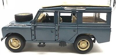 Vintage Polistil Land Rover Station Wagon 1961 (Made in Italy)