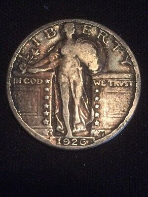1926-s Standing Liberty Quarter-Very Fine Condition