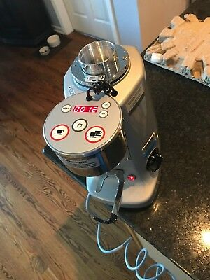 Mazzer Super Jolly Electronic Espresso Coffee Grinder, Silver