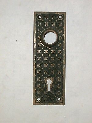 Antique Y&T York & Town Door Knob Backplates #29