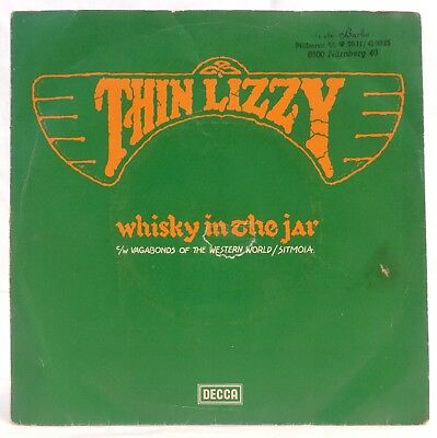 "Vinyl Single 7"" THIN LIZZY, WHISKY IN THE JAR"