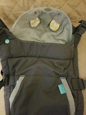 Infantino Fusion Flexible Position Baby Carrier Grey Mint