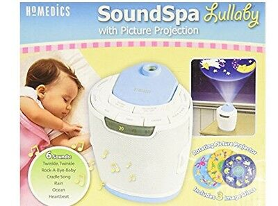 HoMedics SoundSpa SS-3000 Lullaby Sounds-Removable Image Ceiling Projection