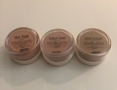 Everyday Minerals Cheek Blush Set 3x 2.5 g New With Seal